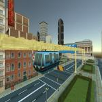 Sky Train Simulator: Elevated Train Driving Game